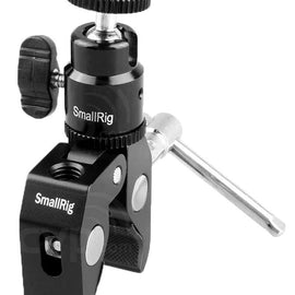 "SmallRig Clamp Mount with 1/4"" Screw Ball Head Mount 1124 - The Film Equipment Store"