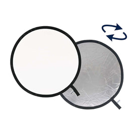 "LASTOLITE LL LR3031 REFLECTOR 30""/ 75CM Silver/White - The Film Equipment Store"