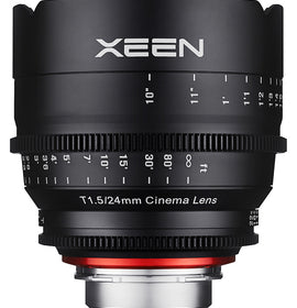 XEEN 24mm T1.5 Cinema Lens for sale at The Film Equipment Store - The Film Equipment Store