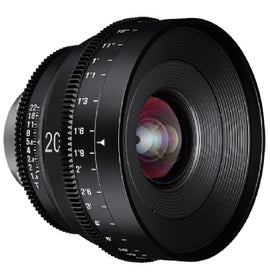 XEEN 20mm T1.9 Cinema Lens for sale at The Film Equipment Store - The Film Equipment Store