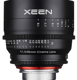XEEN 50mm T1.5 PROFESSIONAL CINE LENS - The Film Equipment Store