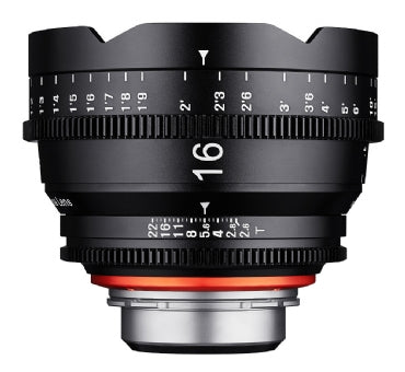 XEEN 16mm T2.6 Cinema Lens for sale at The Film Equipment Store - The Film Equipment Store