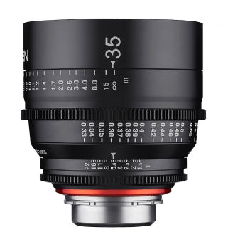 XEEN 35mm T1.5 PROFESSIONAL CINE LENS - The Film Equipment Store