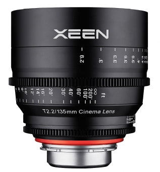 XEEN 135mm T2.2 Cinema Lens for sale at The Film Equipment Store - The Film Equipment Store