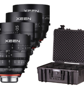 Xeen 5 CINEMA LENS KIT 1: 14/24/35/50/85mm - The Film Equipment Store