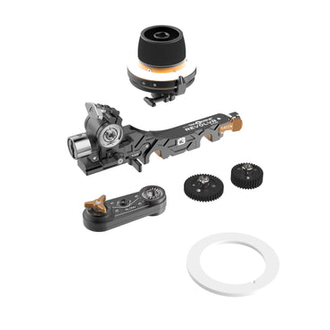 Bright Tangerine - REVOLVR ATOM MINI KIT Follow Focus - The Film Equipment Store - The Film Equipment Store