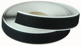 20mm Self Adhesive VELCRO® Brand Black Hook 25m Roll - The Film Equipment Store