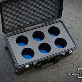 Jason Cases Protective 6-Lens Case for Schneider Xenon FF (Compact) - The Film Equipment Store