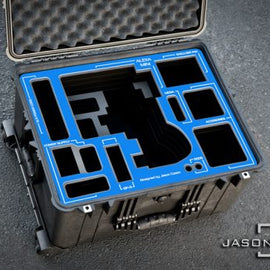 Jason Cases Arri Alexa Mini case (Arri plates) (Blue Overlay) - The Film Equipment Store