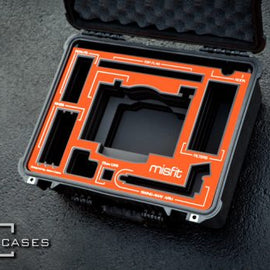 Jason Cases Protective Case for Bright Tangerine Misfit Matte Box - The Film Equipment Store