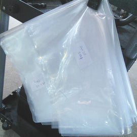 Clear Polythene Bag ''POLY BAG'' 500 gauge - The Film Equipment Store