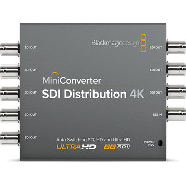 Blackmagic Mini Converter – SDI Distribution 4K for sale at The Film Equipment Store