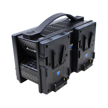 Hawk-Woods VL-ATM4 (VLATM4) V-Lock ATOM 4-Channel Fast Charger - The Film Equipment Store