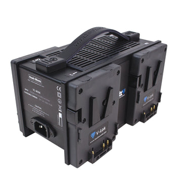 HAWK-WOODS VL-MX4 QUAD CHARGER - The Film Equipment Store
