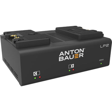 Anton Bauer LP2 Performance Dual V-Mount/Gold Mount Battery Charger - The Film Equipment Store - The Film Equipment Store