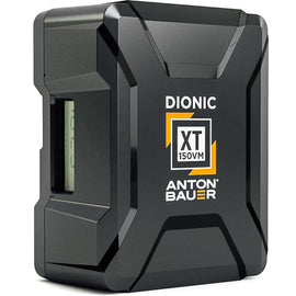 Anton Bauer Dionic XT Range - 90 / 150 - Gold / V-Lock Mount - The Film Equipment Store