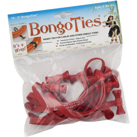 "BongoTies Standard 5"" Elastic Cable Ties (10 Pack) - Various Colours - The Film Equipment Store - The Film Equipment Store"