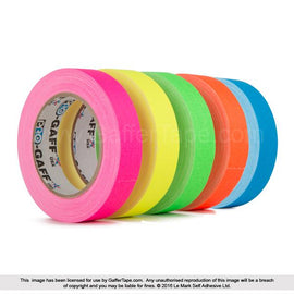 "Pro-Gaff Gaffer Tape (1"" x 50 Yards) - The Film Equipment Store"