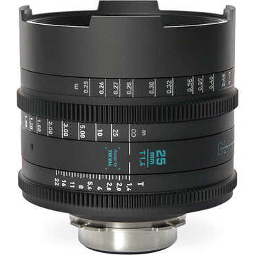 GECKO-CAM Genesis G35 25mm T1.4 Cine Lens (Feet) - The Film Equipment Store