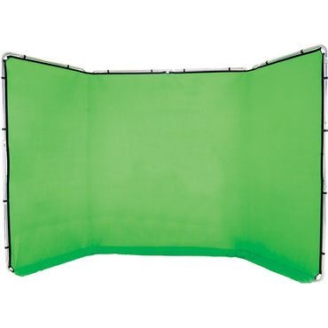 Lastolite Panoramic Background (13', Chromakey Green) - The Film Equipment Store