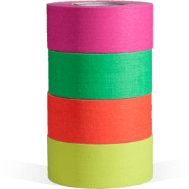 microGAFFER Tape - Fluorescent (4 Pack) - 1 Inch - The Film Equipment Store