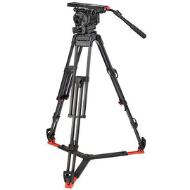 OConnor Ultimate 2560 Fluid Head & 60L 150mm Bowl Tripod with Floor Spreader - C2560-60L150-F - The Film Equipment Store