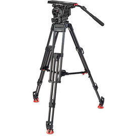 OConnor Ultimate 2560 Fluid Head & 60L 150mm Bowl Tripod with Mid-Level Spreader - C2560-60L150-M - The Film Equipment Store