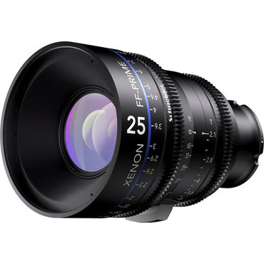 Schneider Xenon FF 25mm T2.1 Lens (Feet) - The Film Equipment Store