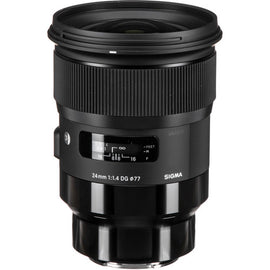 Sigma 24mm f/1.4 DG HSM Art Lens - The Film Equipment Store