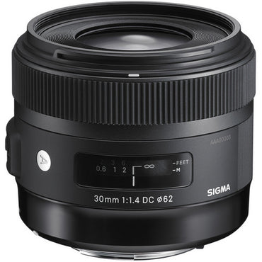 Sigma 30mm f/1.4 DC HSM Art Lens - The Film Equipment Store