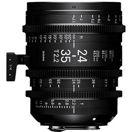 Sigma 24-35mm T2.2 FF Zoom Cine Lens ( EF & E Mount ) - Feet Scale - The Film Equipment Store
