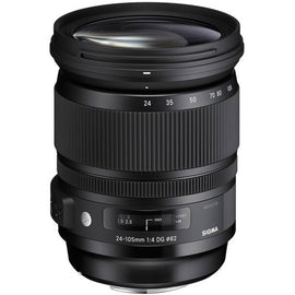 Sigma 24-105mm f/4 DG OS HSM Art Lens - The Film Equipment Store