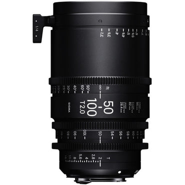 Sigma 50-100mm T2 High Speed Zoom Cine Lens  - Feet Scale - The Film Equipment Store