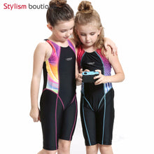 Girl One Piece Diving Swimming Suit (6 Colors)/ 女孩潛水游泳衣(6種顏色)