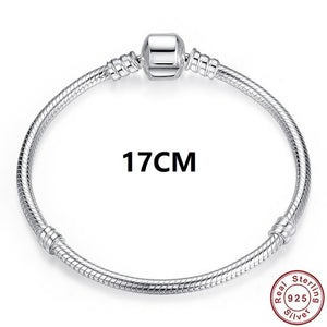 Luxury 100% 925 Sterling Silver Bracelet Bangle/ 100%925純銀手鍊