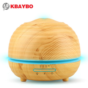 300ml Electric Aroma Diffuser Mist Maker for Home-Wood/ 家用木製電動香薰噴霧器