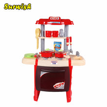 Surwish Children Cooking Play Kitchen Toys Pretend & Play Baby Kids Home Educational Toy
