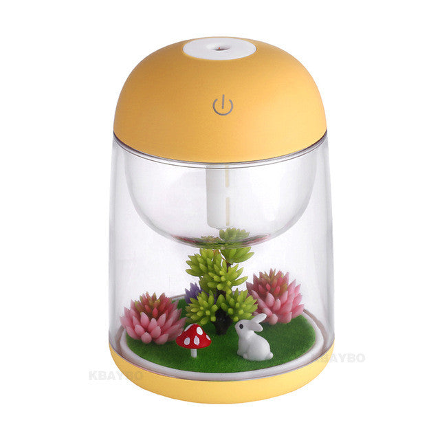 Ultrasonic Air Aroma Humidifier LED Lights Aromatherapy/ LED燈空氣芳香加濕器