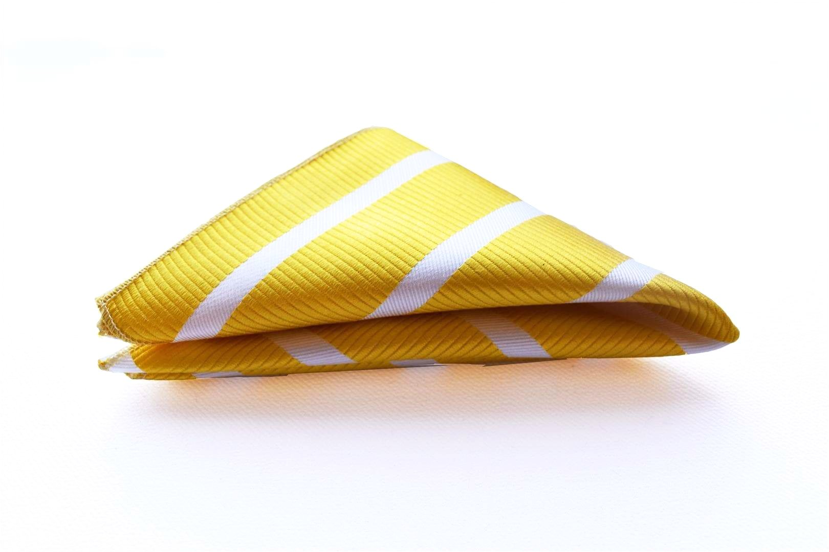 Sunflower Striped Silk Bow Tie