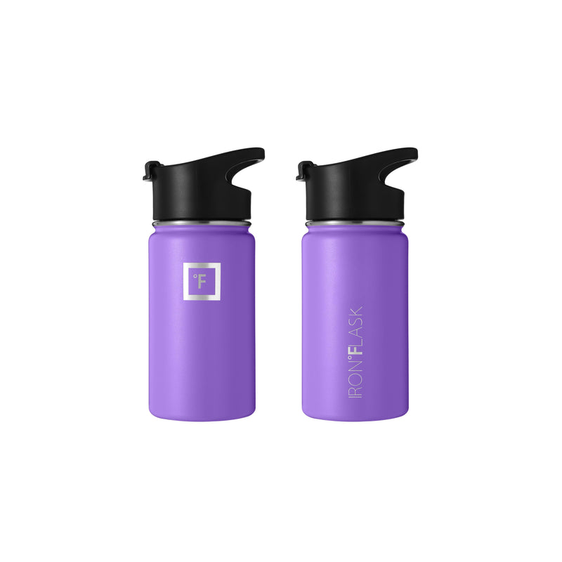 14 oz Wide Mouth Water Bottle with Spout Lid Wide Mouth - Spout Lid Iron Flask