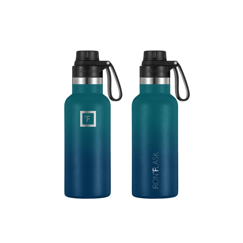 16 Oz Narrow Mouth Water Bottle with Spout Lid Narrow Mouth Water Bottles Iron Flask