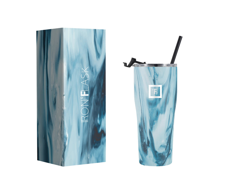 24 Oz Rover Tumbler Iron Flask Ocean