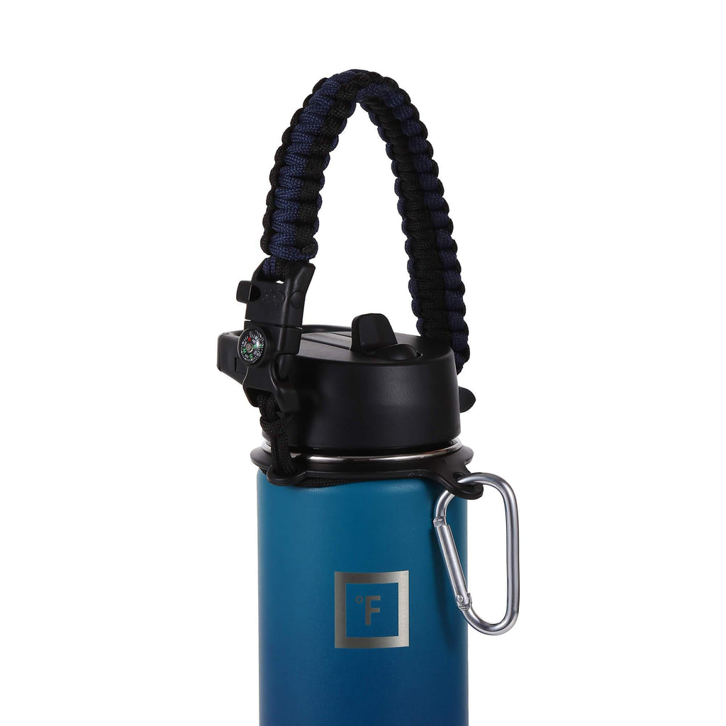 Paracord Handle Paracord Handle Iron Flask Twilight Blue