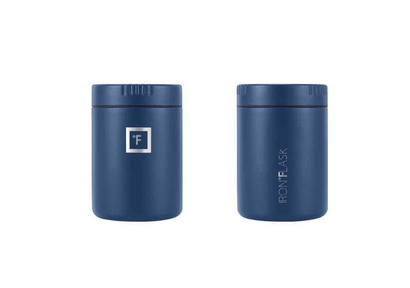 16 Oz Food Jar Iron Flask Blue