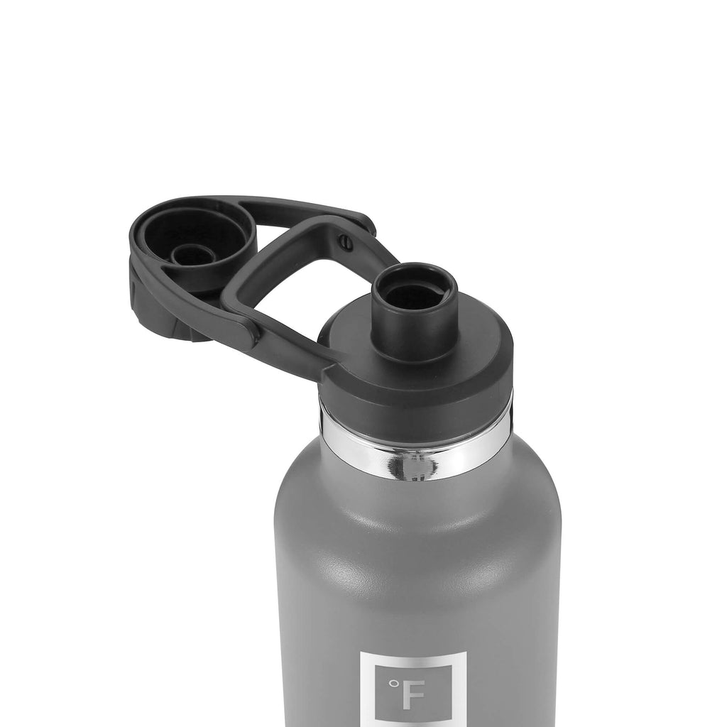 Spout Lid Set For Narrow Mouth Water Bottles Accessories Iron Flask