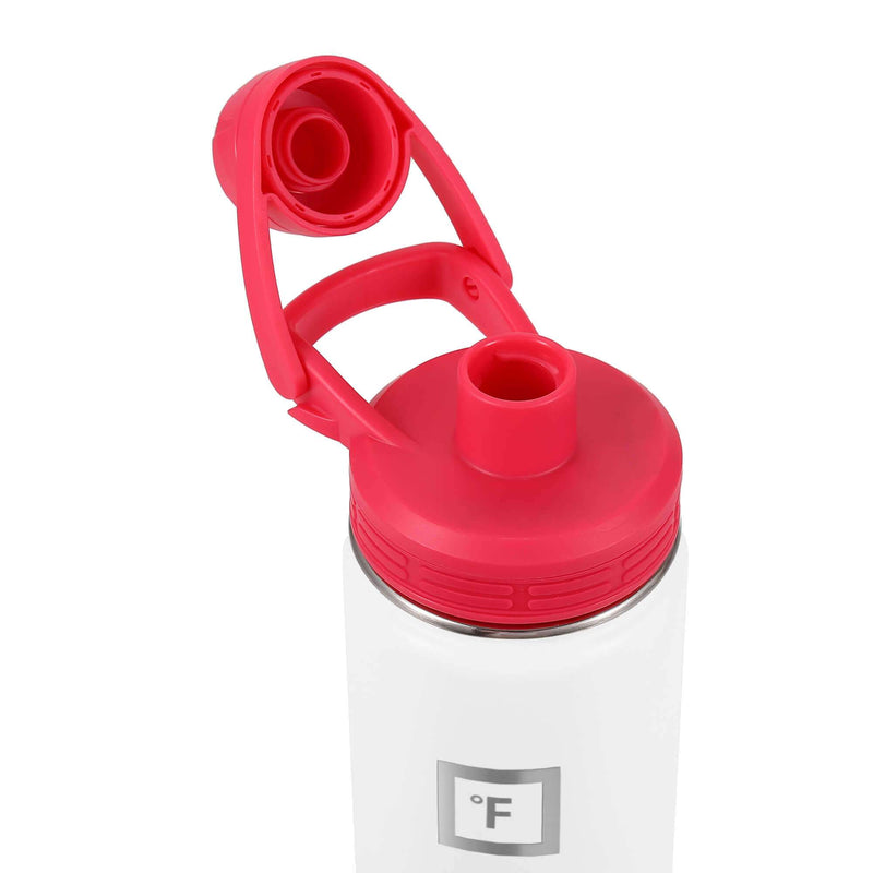 Spout Lid Set for Wide Mouth Water Bottles Accessories Iron Flask