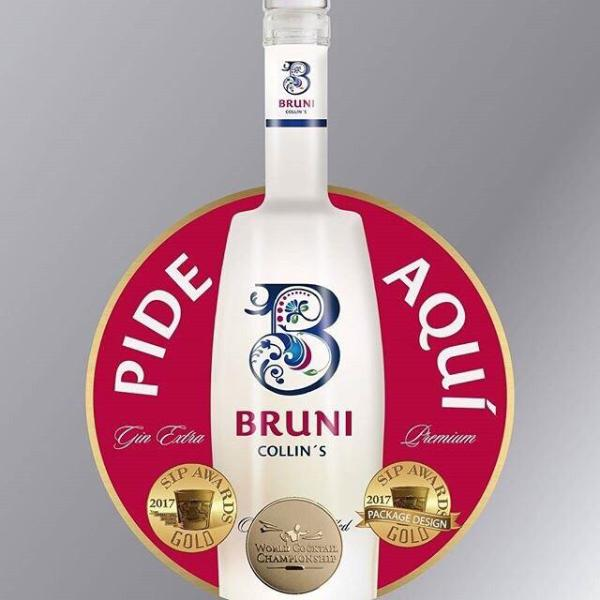 Bruni Collins Gin (Duo Pack 2x 70 cl)