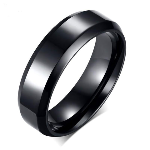 Titanium Ring With Polished Trim - FREE for a limited time