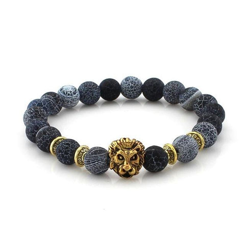 Natural Marble Stone Lion Bracelet - FREE for a limited time