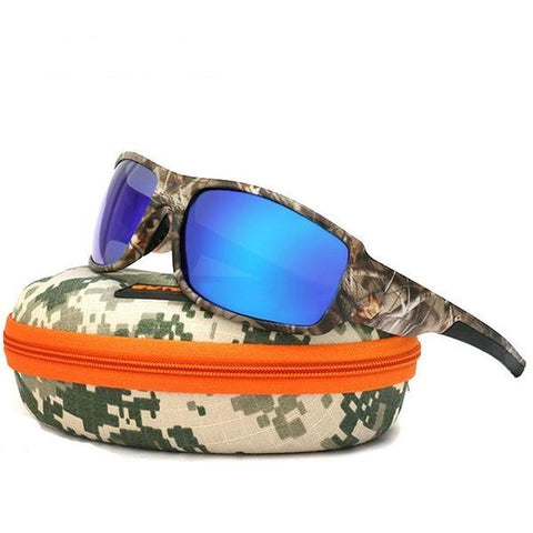 CAMOUFLAGE Sports Mirror Lens Sunglasses In 8 Colors